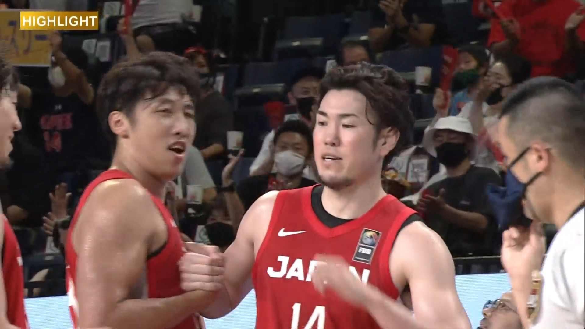 【ハイライト】【バスケ男子国際強化試合2021】日本 vs フィンランド(2021.7.11)