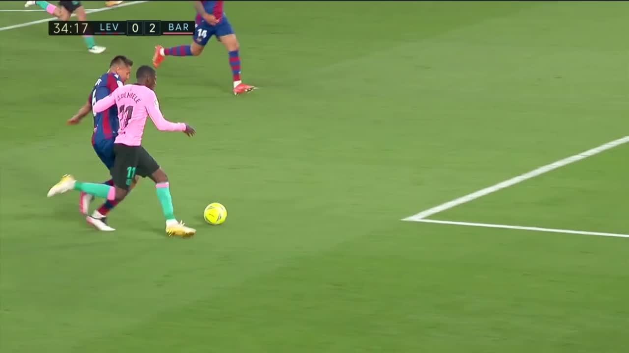 【ラ・リーガ】第36節 レバンテUD vs FCバルセロナ ハイライト