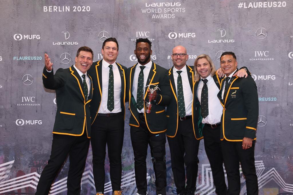 【Laureus World Sports Awards2020】最優秀チーム賞は「ラグビー南アフリカ代表」
