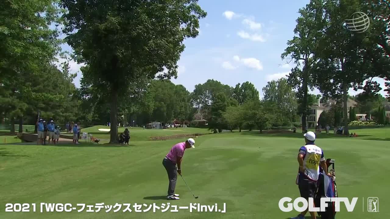 【GOLFTV】松山英樹:2021 WGC-フェデックスセントジュードインビテーショナル初日