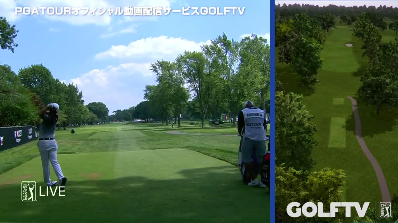 【GOLFTV】松山英樹2019-20PGA TOUR<ロケットモーゲージクラシック>
