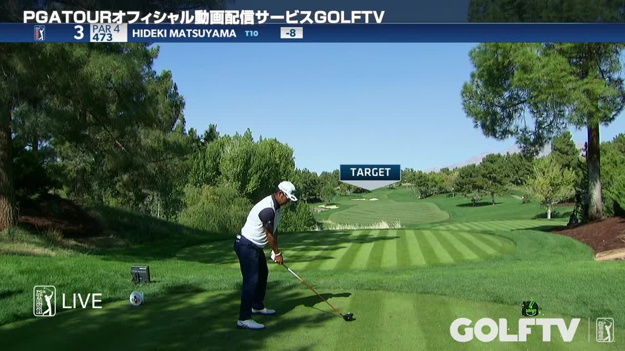 【GOLFTV】松山英樹2020-21PGA TOUR<CJカップ>