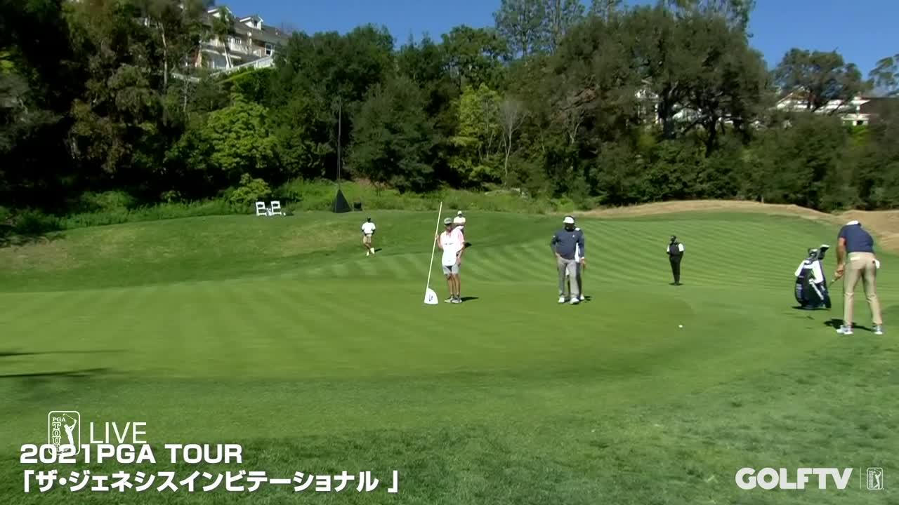 【GOLFTV】ダスティン・ジョンソン: スーパーショット
