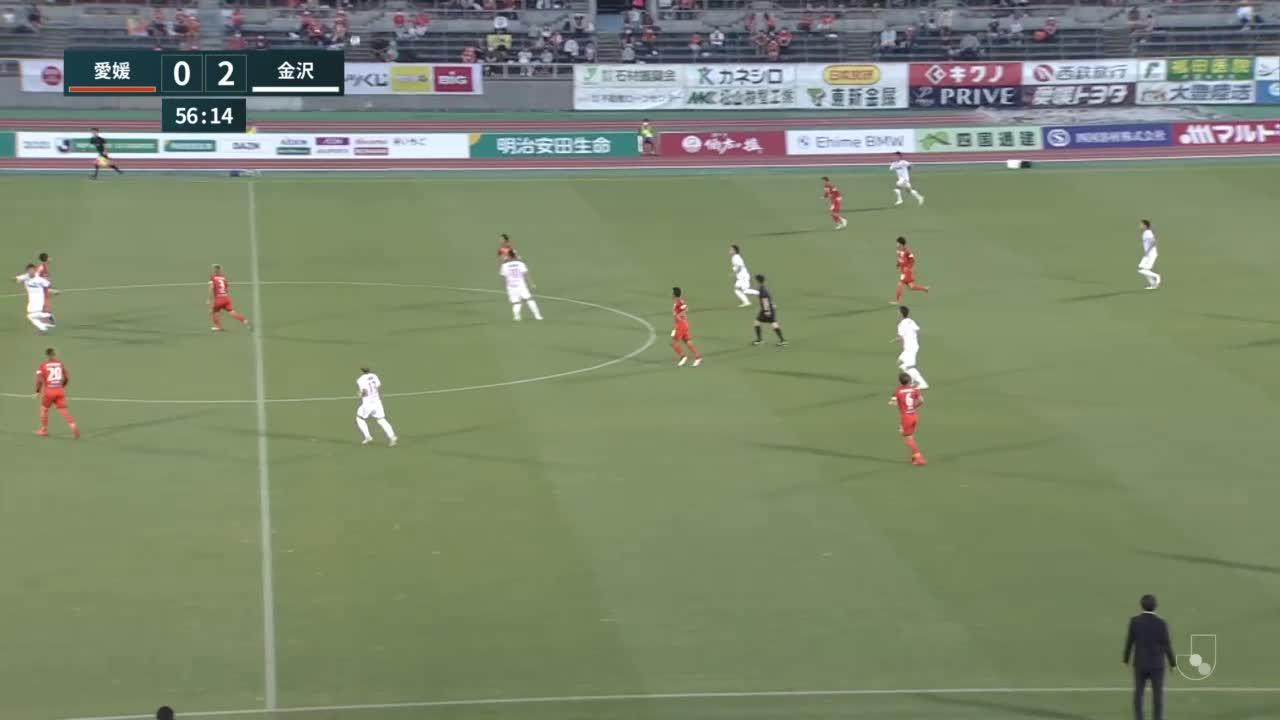【ゴール動画】11番杉浦恭平「第18節 愛媛FC vs ツエーゲン金沢」