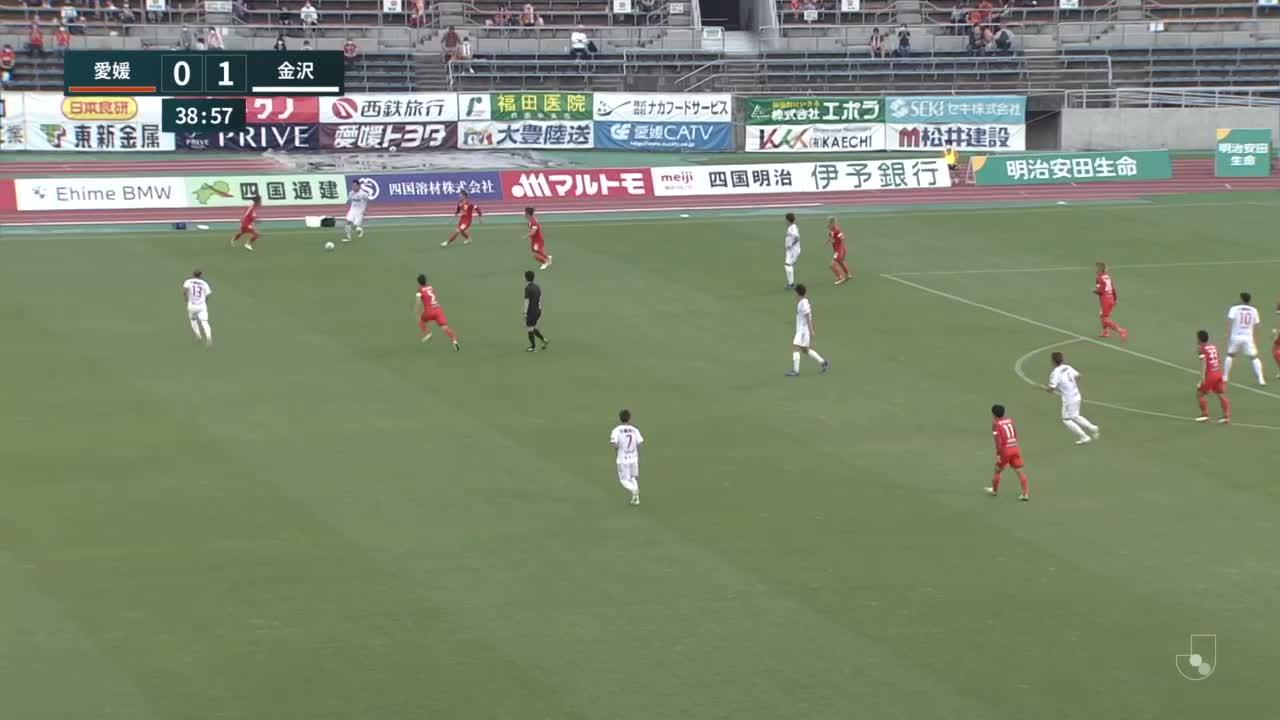 【ゴール動画】8番藤村慶太「第18節 愛媛FC vs ツエーゲン金沢」