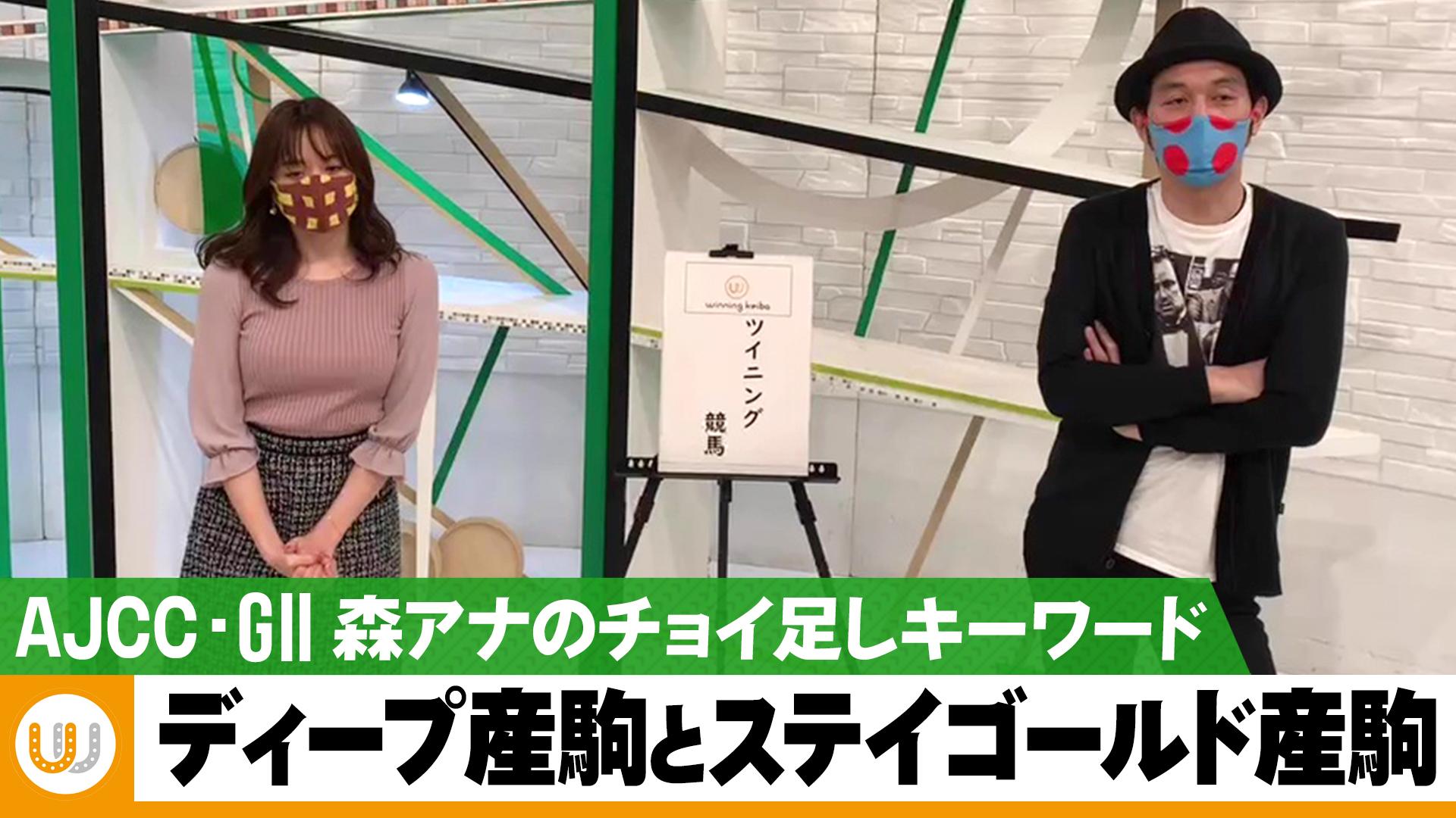 【AJCC】森香澄アナのチョイ足しキーワード『ディープ産駒とステイゴールド産駒』 ウイニング競馬 反省会