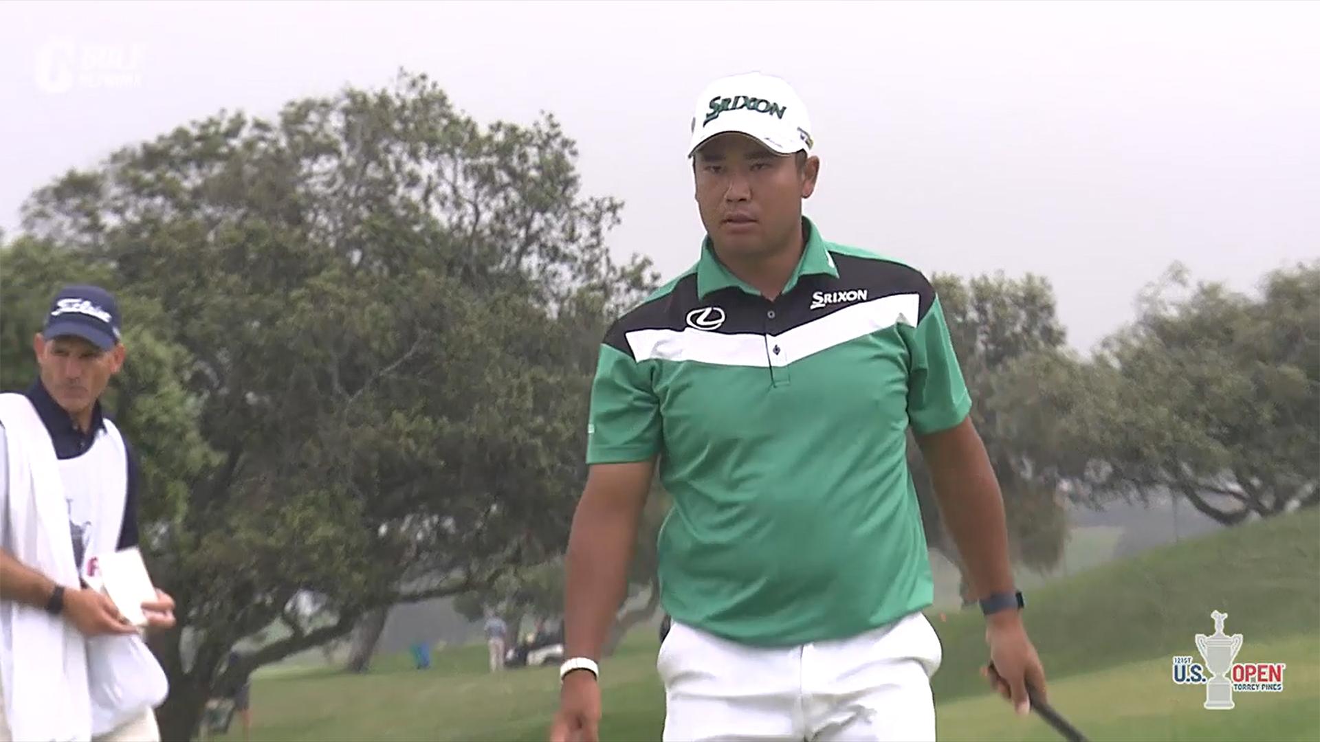 【全米オープン21】松山英樹、ラフからのアプローチに苦戦も耐えのゴルフで41位タイ 第2ラウンド