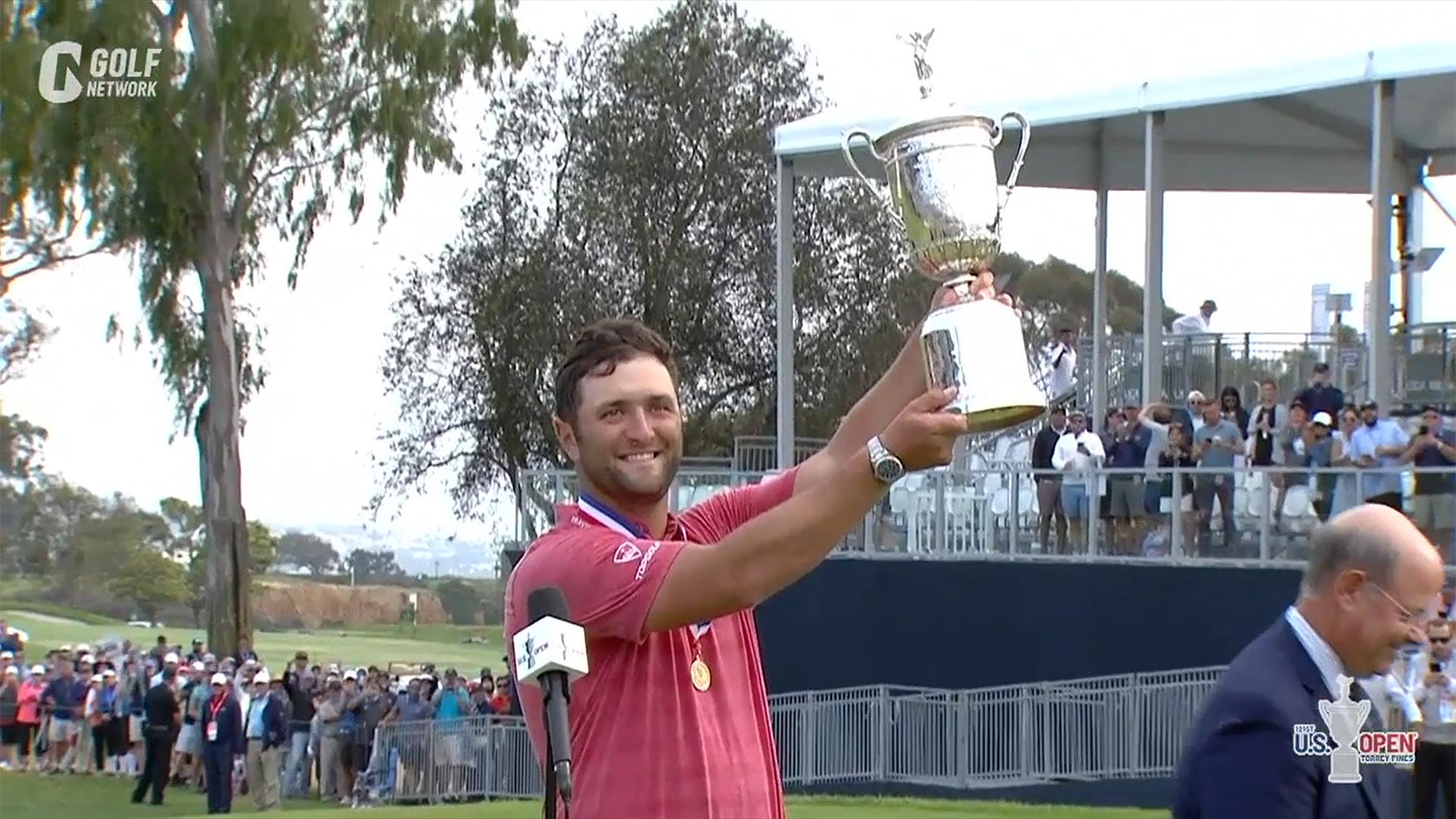 【全米オープン21】ジョン・ラームが全米オープンでメジャー初制覇 最終ラウンド
