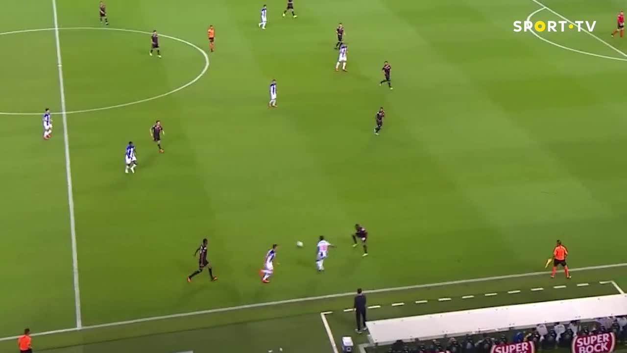 FCポルト、華麗なパス回しからゴール!【ポルトガルリーグ】