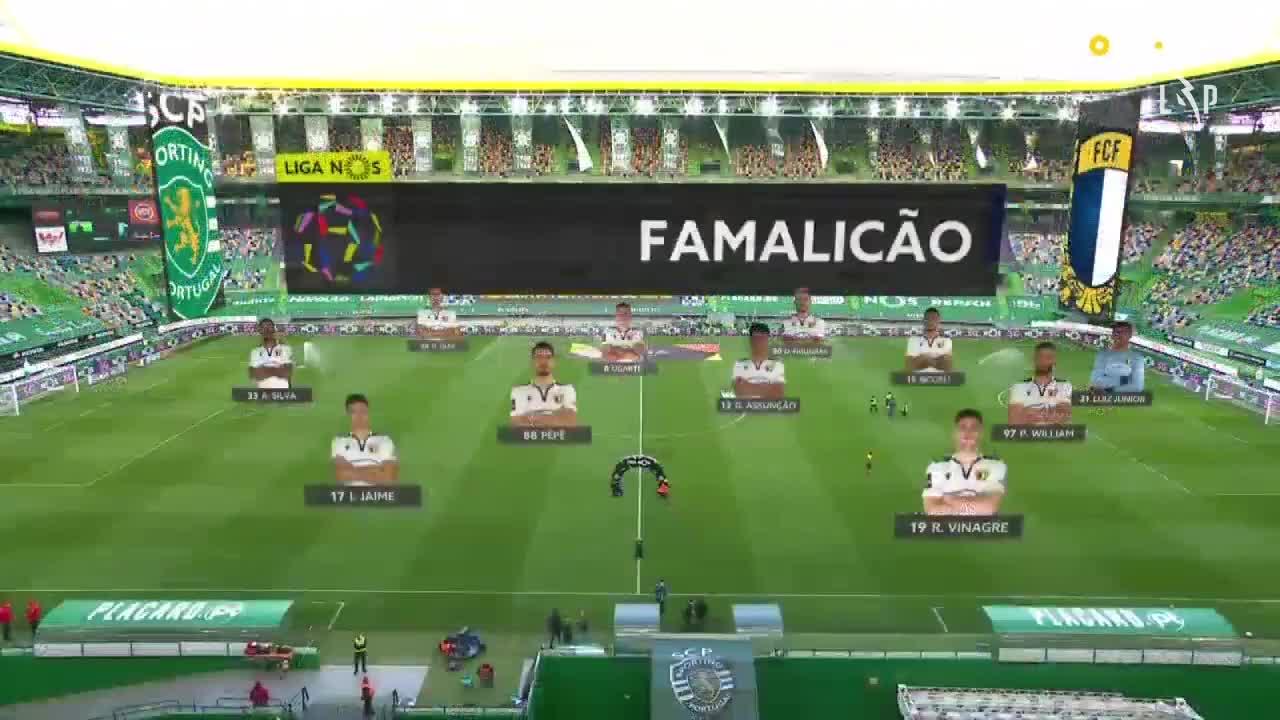 スポルティングCP vs FCファマリカン 試合ハイライト【ポルトガル・リーグ第26節】