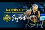 宇都宮ブレックスは、#40 ジョシュ・スコット選手との2021-22シーズン選手契約が合意しました。
