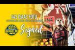 宇都宮ブレックスは#42 アイザック・フォトゥ選手との2021-22シーズンの選手契約が合意したことを発表  フォトゥ選手は、ニュージーランド代表として2019年に中国で行われたFIBA バスケットボール ワールドカップ 2019に出場し、日本戦では23得点および10リバウンドを記録した。   なお、本契約締結は、日本への入国を現時点で許可・許容されたわけではございません。