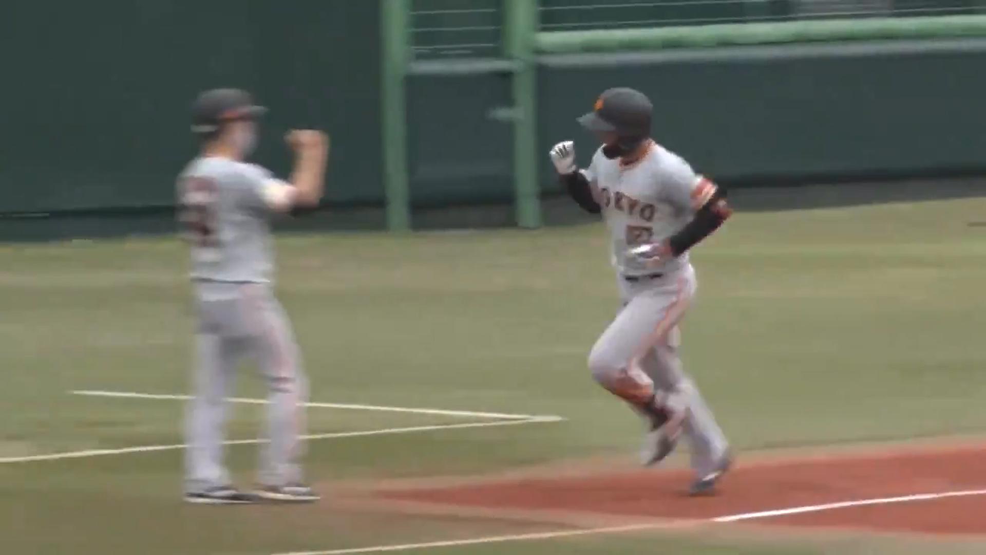 【イースタン・リーグ】育成ドラ2位ルーキー・喜多が公式戦初HR!