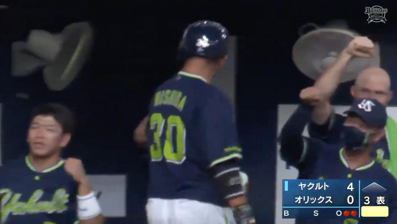 【2021プロ野球エキシビションマッチ】ヤクルト5番・西田明央選手が3ランホームランを放つ!!!