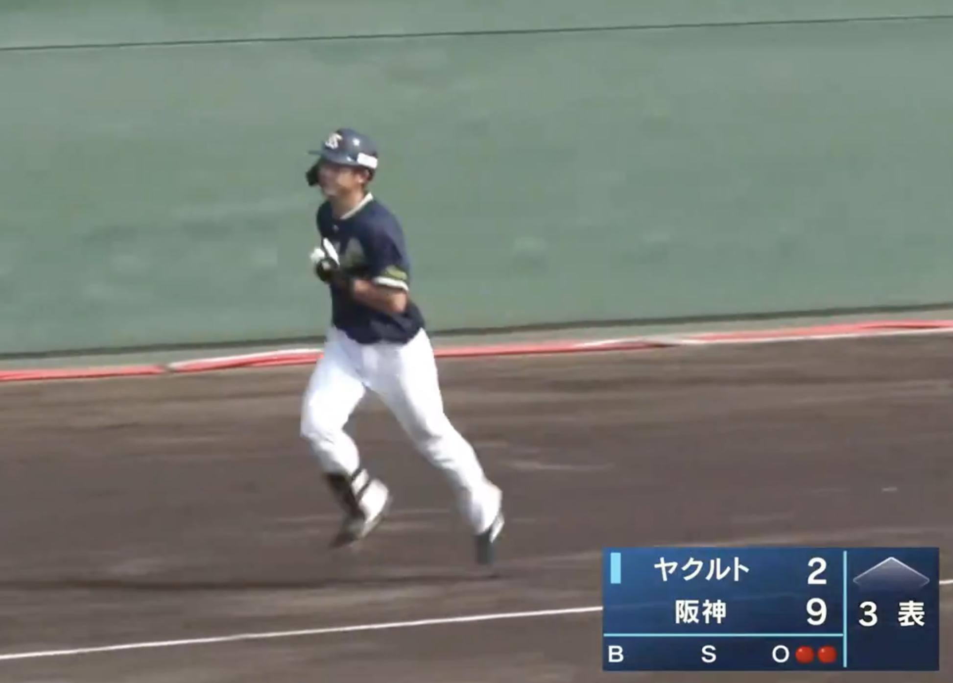 【フェニックス・リーグ】ヤクルト・長岡秀樹選手から3試合連続となるホームランが飛び出す!!