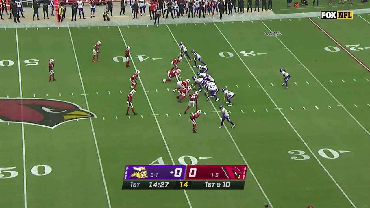 【NFL2021年第2週】カーディナルスがホームでバイキングスと激突