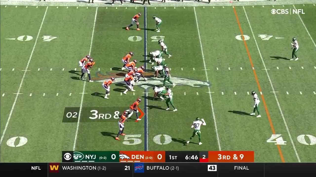 【NFL2021年第3週】3連勝を狙うブロンコスがジェッツを迎え撃つ