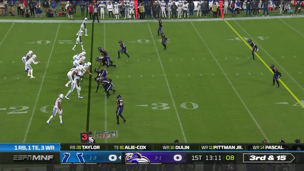 【NFL2021年第5週】ホームでコルツを迎え撃つレイブンズの4連勝なるか