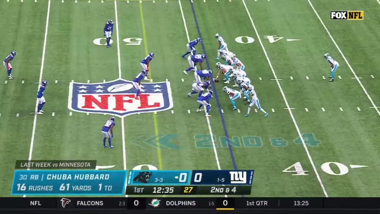 【NFL2021年第7週】連敗脱出を目指すパンサーズとジャイアンツが対戦