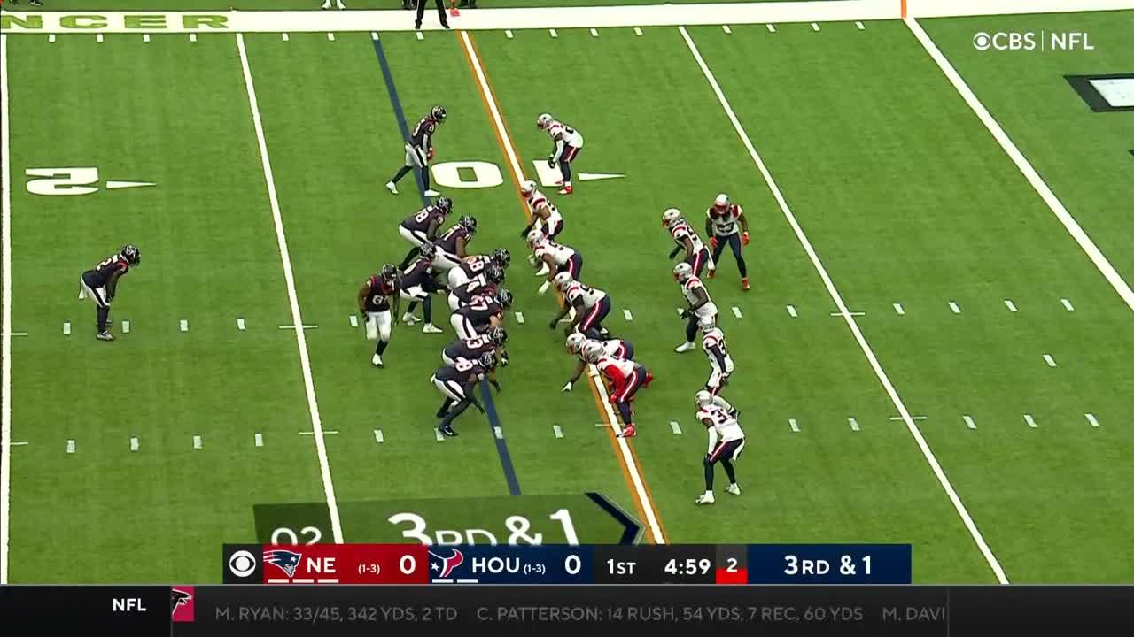 【NFL2021年第5週】ペイトリオッツとテキサンズが2勝目をかけて激突