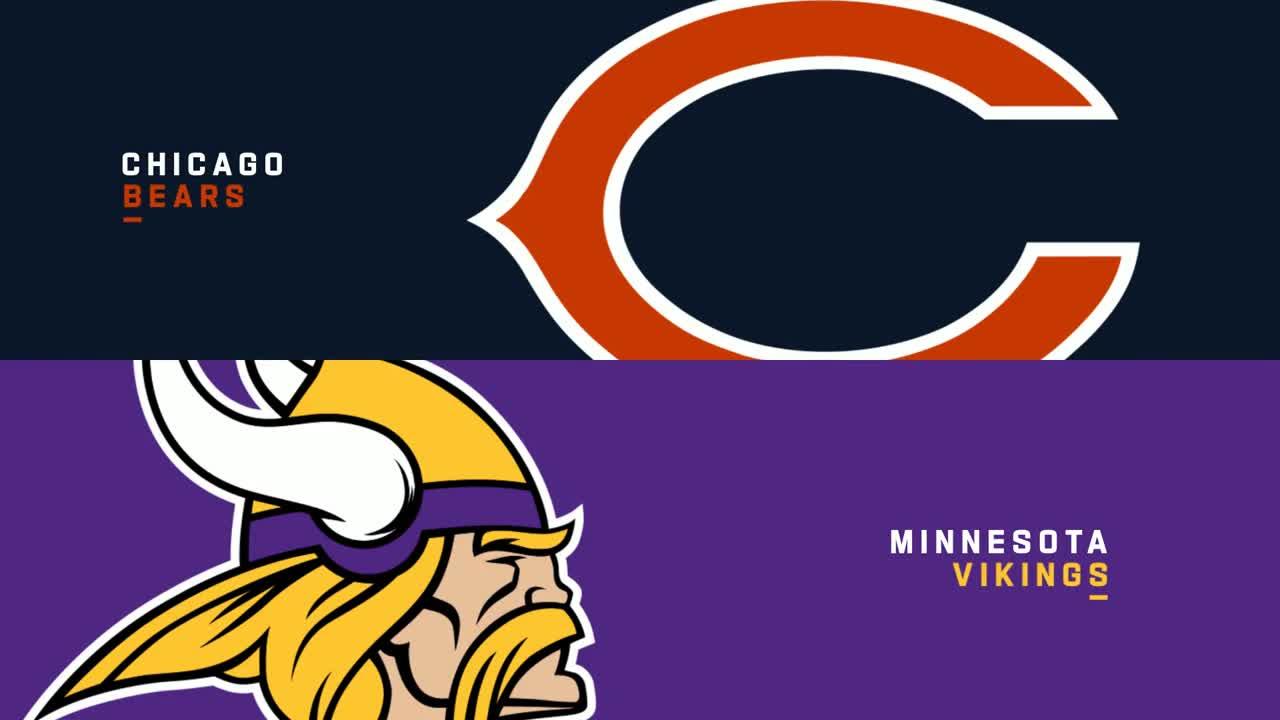 【NFL2020年第15週】6勝7敗のベアーズとバイキングスが激突、勝率5割復帰を果たすのは?