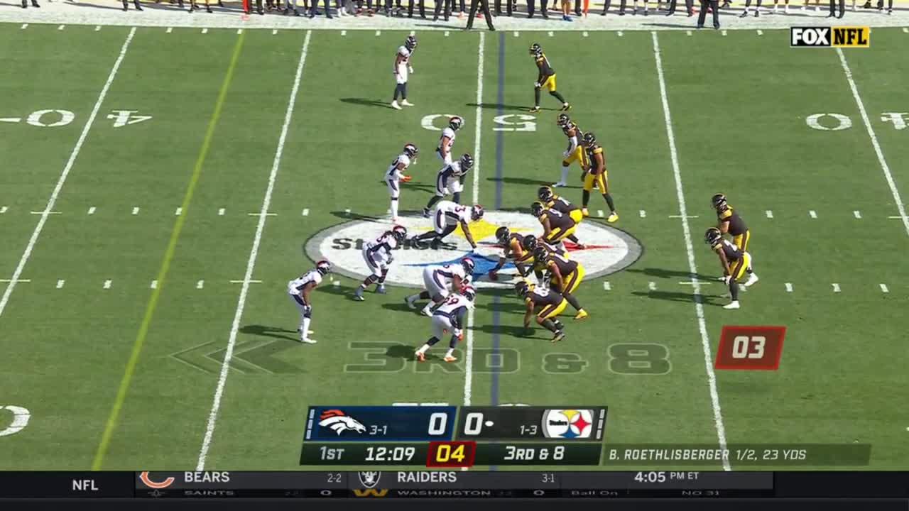 【NFL2021年第5週】2勝目を狙うスティーラーズと3勝1敗のブロンコスが激突
