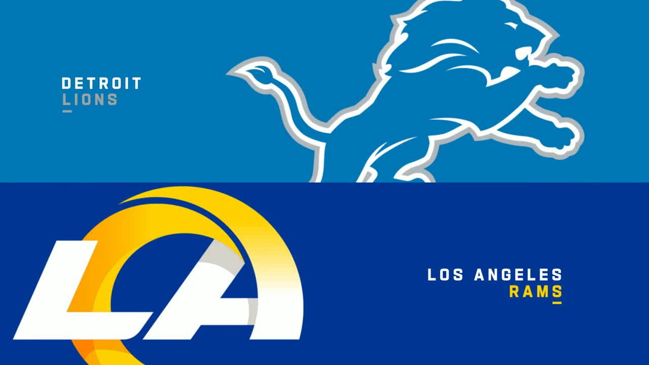 【NFL2021年第7週】ラムズがホームでライオンズと対決