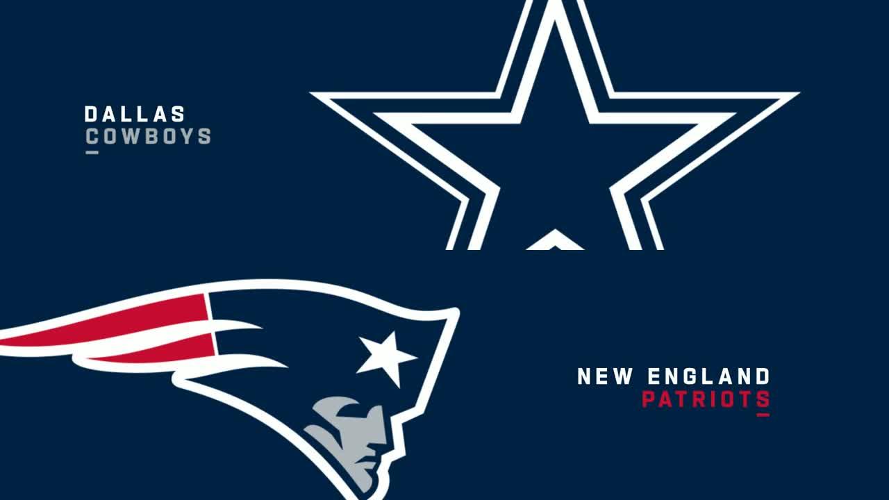 【NFL2021年第6週】4連勝中の好調カウボーイズ、敵地でペイトリオッツを下して5連勝となるか