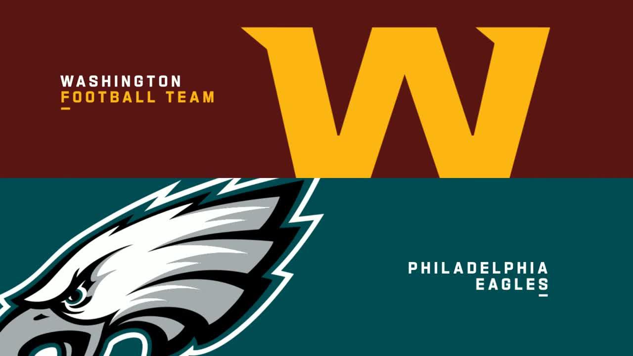 【NFL2020年第17週】プレーオフ&地区優勝には勝利必須のワシントンがイーグルスと最終戦