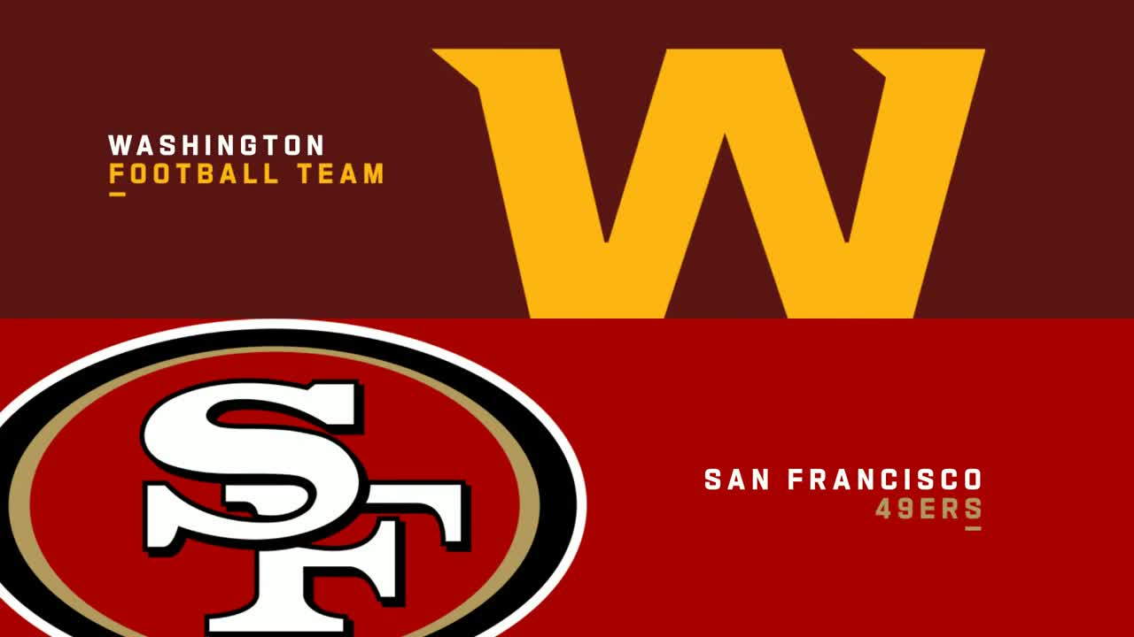 【NFL2020年第14週】ともに5勝7敗のワシントンと49ersが6勝目をかけて対戦