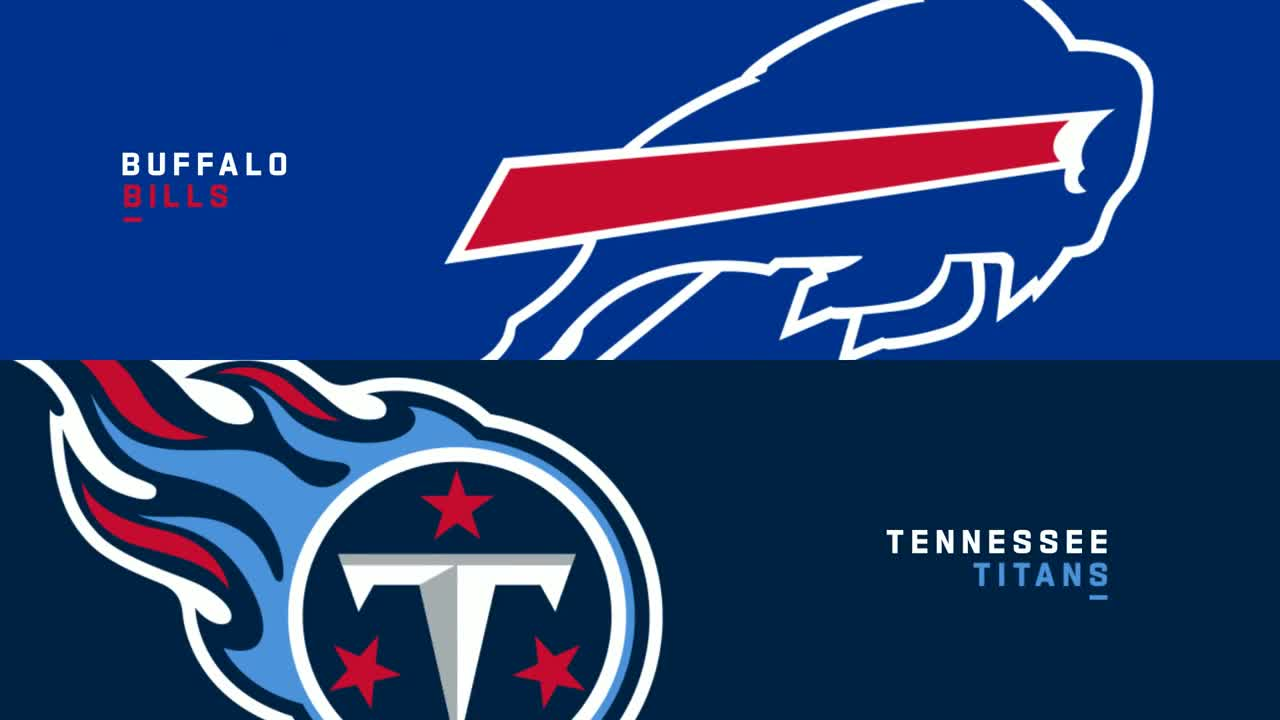 【NFL2021年第6週】AFC東地区と南地区の首位対決、ビルズとタイタンズの一戦