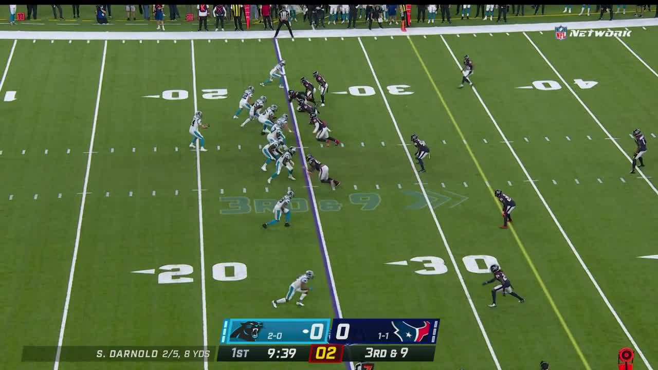 【NFL2021年第3週】テキサンズが本拠地で連勝中のパンサーズとの一戦に臨む