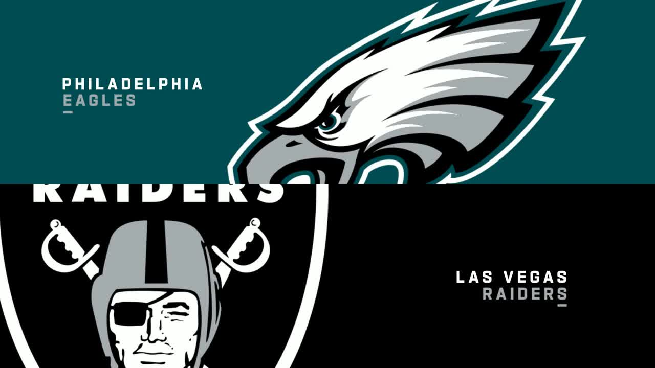 【NFL2021年第7週】レイダースが本拠地でイーグルスを迎え撃つ