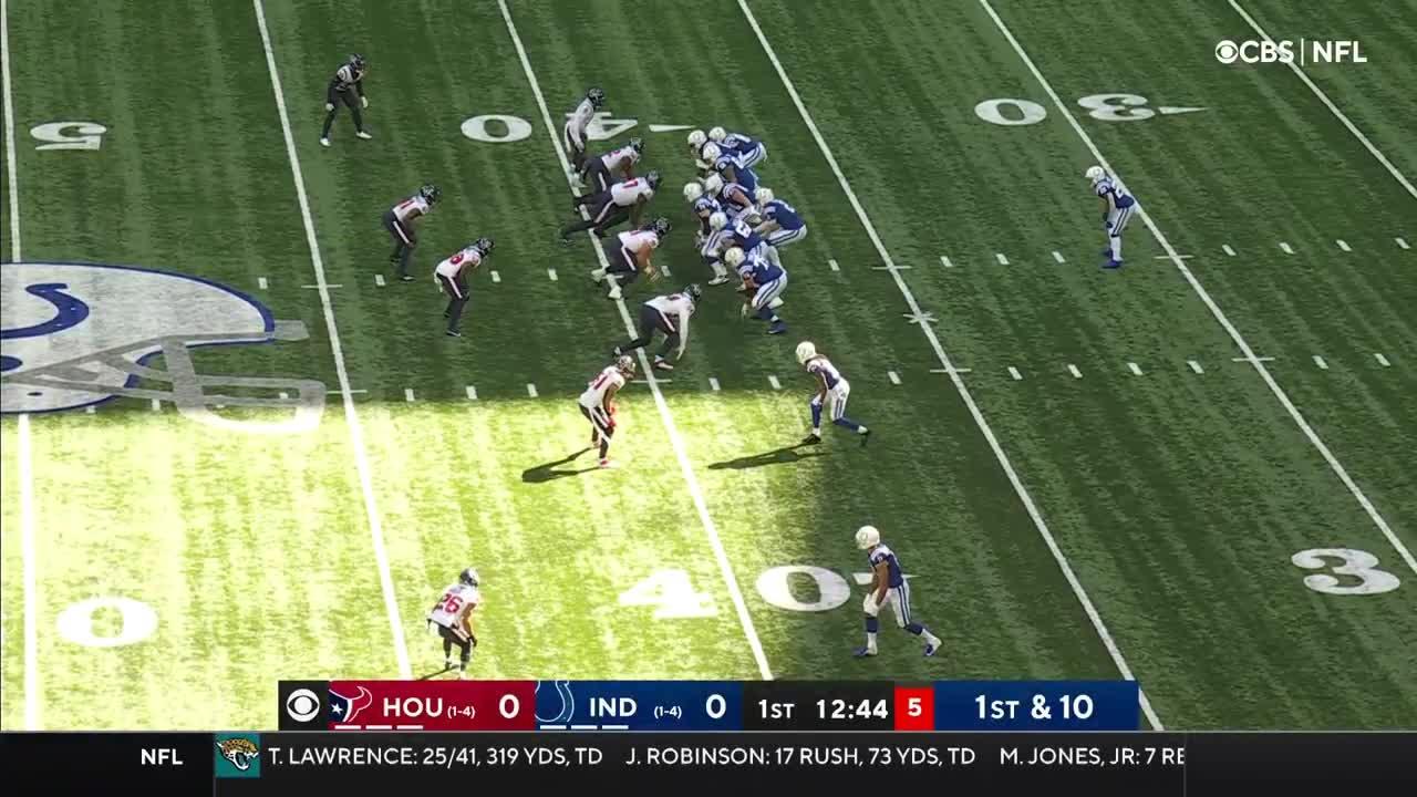 【NFL2021年第6週】ともに1勝4敗のテキサンズとコルツが3勝目をかけて激突