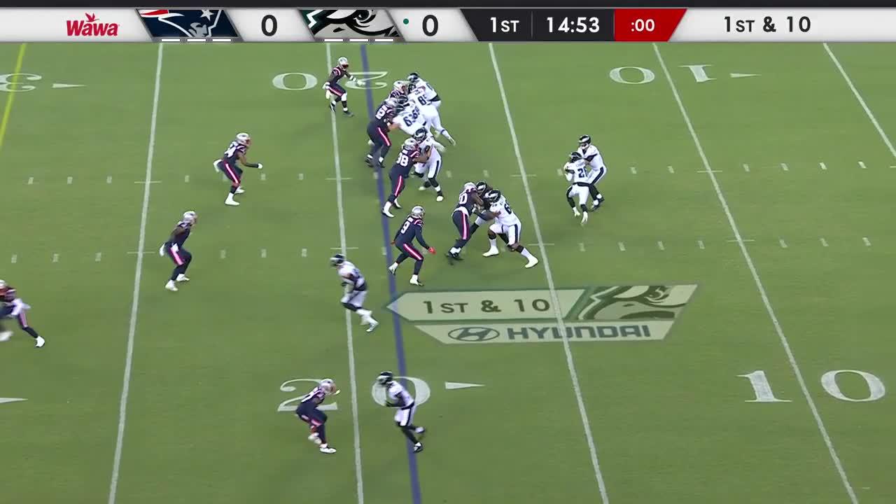 【NFL2021年プレシーズン第2週】ペイトリオッツ対イーグルス