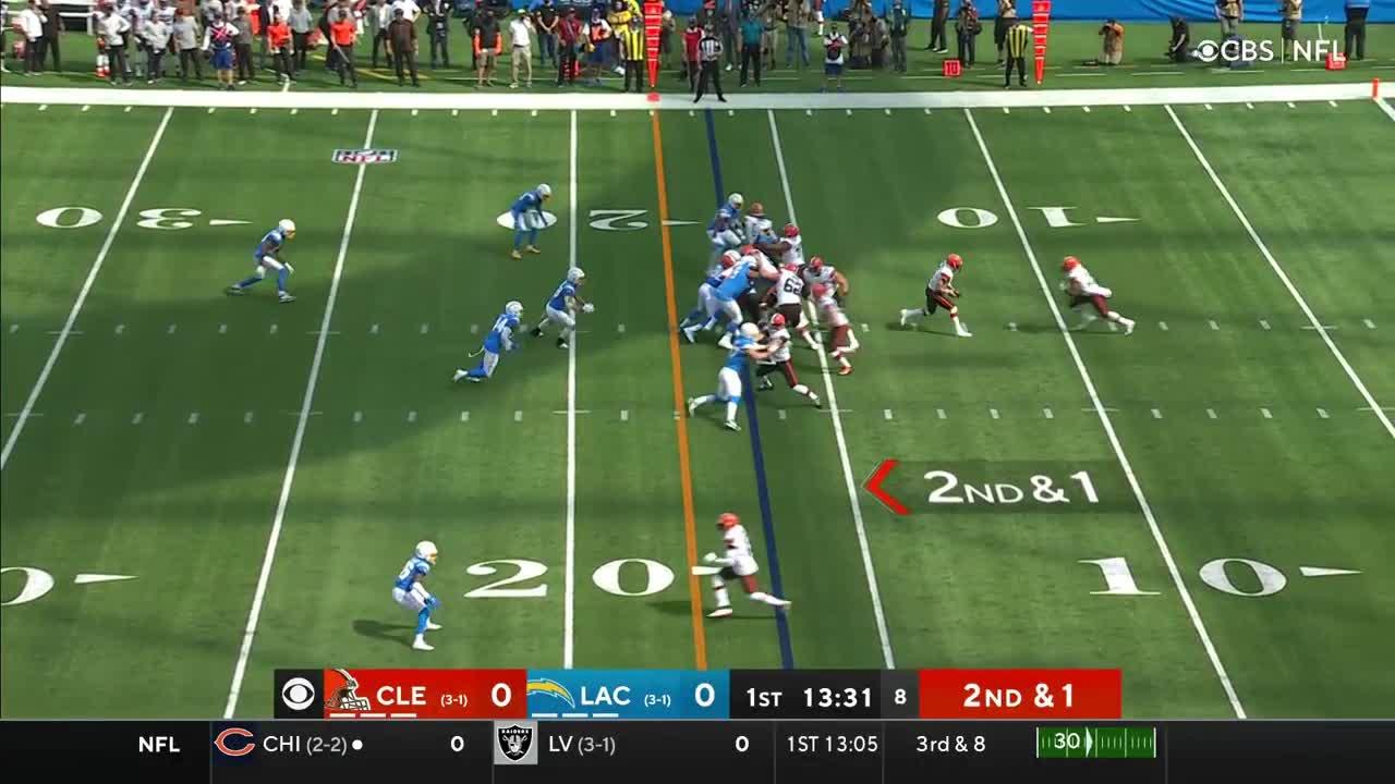 【NFL2021年第5週】白星を重ねるブラウンズが敵地でチャージャーズと対戦