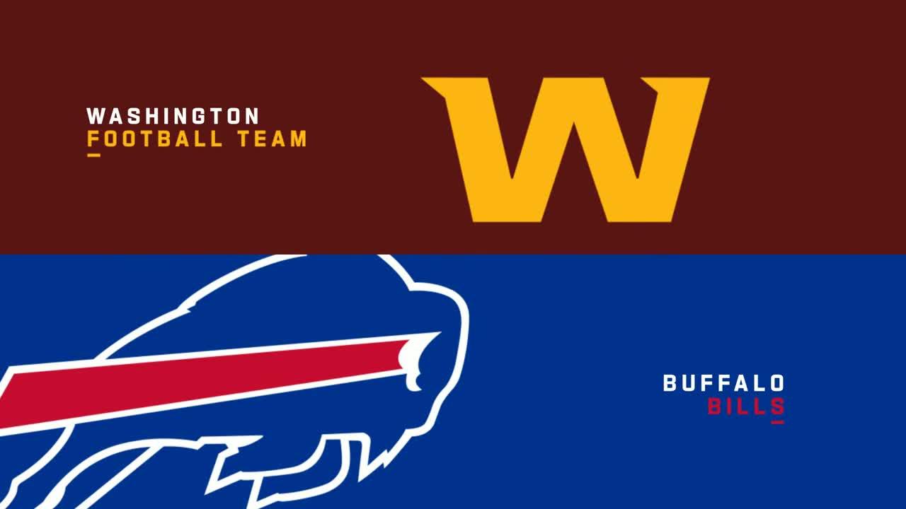 【NFL2021年第3週】1勝1敗同士のワシントンとビルズが対戦