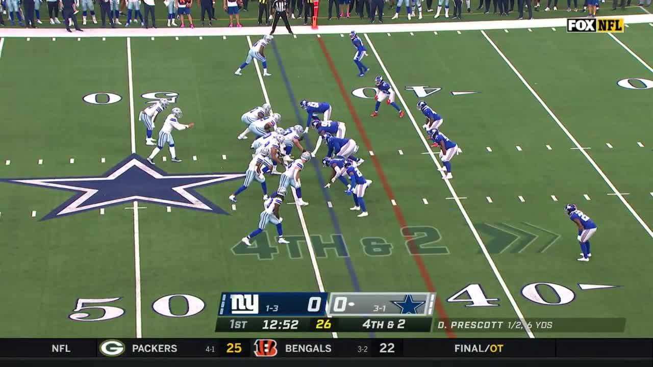 【NFL2021年第5週】ジャイアンツとカウボーイズの負けられない地区対決