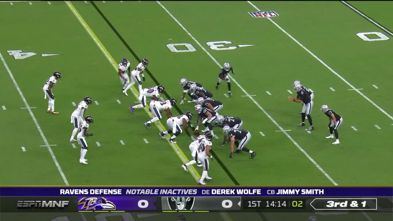 【NFL2021年第1週】マンデーナイト1試合目はレイブンズとレイダースの対決