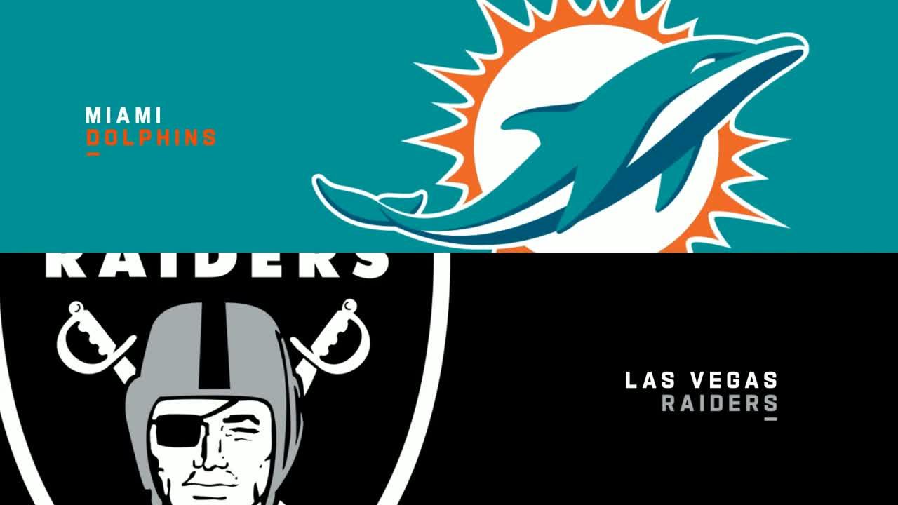 【NFL2021年第3週】連勝中のレイダースがホームでドルフィンズと対戦