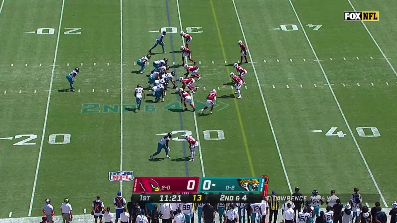 【NFL2021年第3週】今季未勝利のジャガーズが連勝中のカーディナルスに挑む