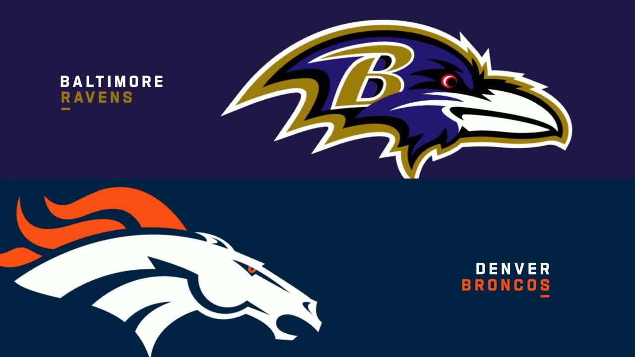 【NFL2021年第4週】レイブンズをホームに迎えたブロンコス、4連勝なるか?