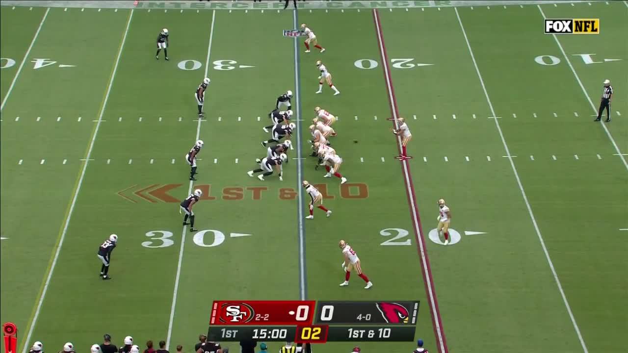 【NFL2021年第5週】今季負けなしのカーディナルスに49ersが挑む