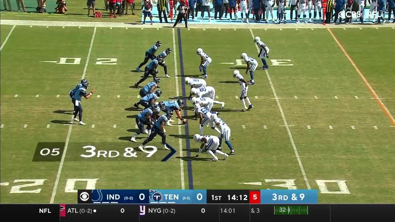【NFL2021年第3週】コルツの連敗脱出なるか!? 地区ライバルのタイタンズと対戦