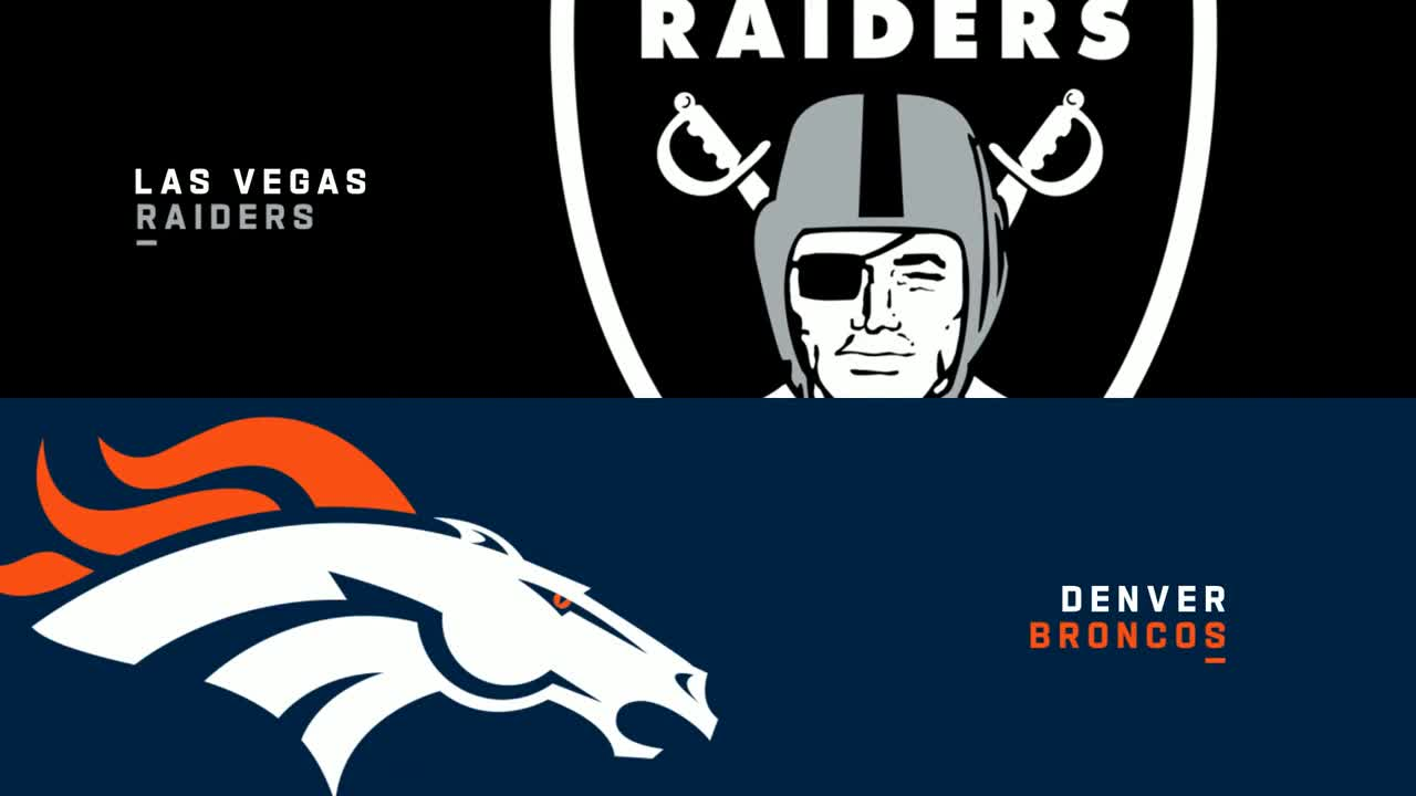 【NFL2020年第17週】勝率5割復帰でシーズンを締めくくりたいレイダースが敵地でブロンコスと対戦