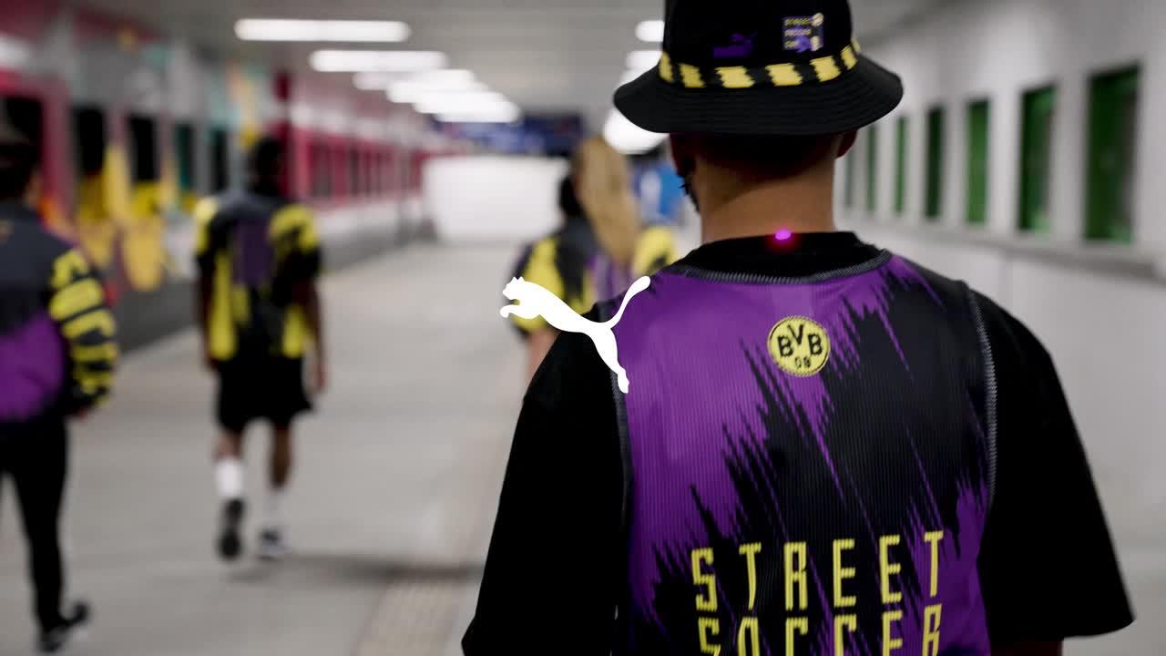 パープル&イエローが印象的!ストリートサッカーコレクション発売