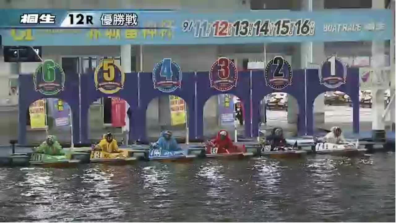 ボートレース桐生 G1赤城雷神杯 開設65周年記念