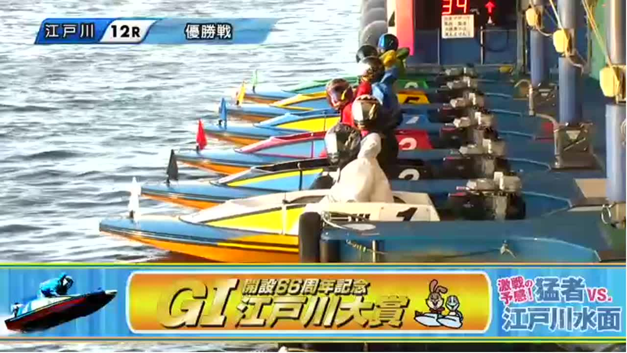 ボートレース江戸川 G1江戸川大賞 開設66周年記念