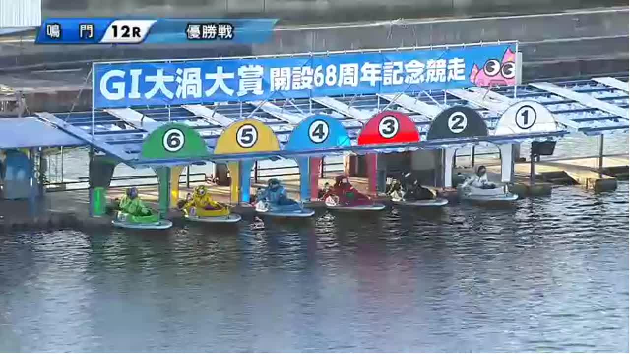 ボートレース鳴門 G1大渦大賞 開設68周年記念