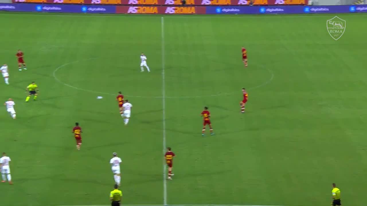 ローマの王子、ザニオーロがゴール|プレシーズンマッチ